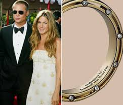aniston wedding ring brad pitt and aniston wedding rings popular wedding