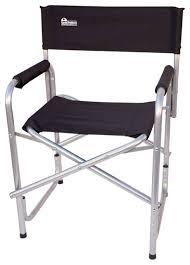 Earth Extra Heavy Duty Short Outdoor Folding Directors Chair - Heavy patio furniture
