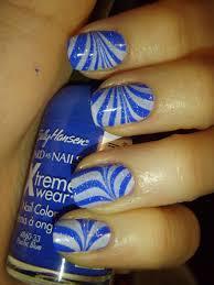 zebra water marble nails tutorial adventures in acetone