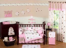 Nursery Bedding And Curtains Bedroom Nursery Ideas For Pink And Grey Lovely Pink And