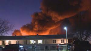 gap roofing fire consumes building contents at local roofing company