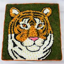 tiger floral tribute funeral flowers portchester