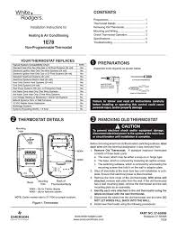 wiring diagram white rodgers thermostat manuals wiring wiring