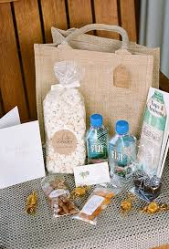 welcome wedding bags creative wedding welcome bag ideas brides