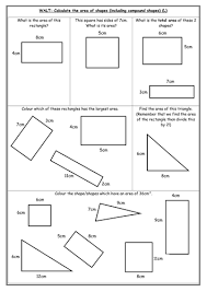 Free Printable Perimeter And Area Worksheets Area Differentiated Worksheets By Indiarose26 Teaching Resources