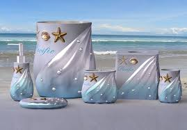 Shell Bathroom Accessories by Sea Bathroom Set Amazing Pictures Wik Iq