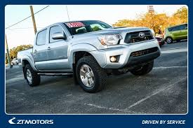 toyota tacoma trd 2013 used one owner 2013 toyota tacoma trd sport 4wd v6 fort walton