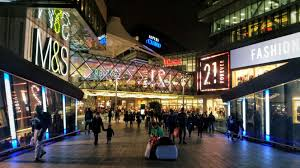 westfield stratford city shopping in stratford london