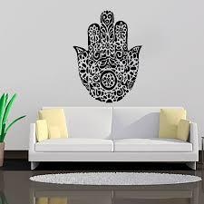 lotus mandala wallpaper living room decorative sticker vinyl art