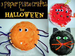 halloween paper plate crafts ye craft ideas