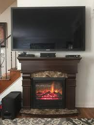 Fireplace Sets Walmart by Electric Fireplace With 47