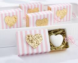 soap party favors heart of gold soaps heart bridal shower favors