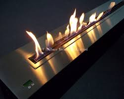 ethanol fireplace with remote ethanol burner insert art fireplace