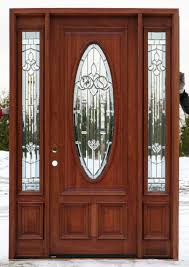 Wood Exterior Door Exterior Wood Doors Entry Door With One Sidelight Fiberglass For