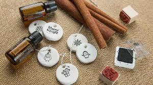 aromatherapy salt dough ornaments diy dōterra essential oils