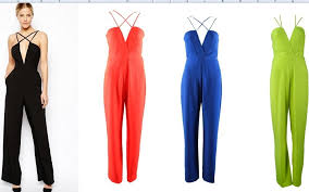 stylish jumpsuits shipping 2014 fashion cut out stylish v neck jumpsuit ft716 in