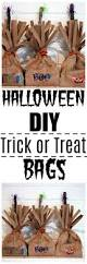 simple halloween craft diy trick or treat bags happily hughes
