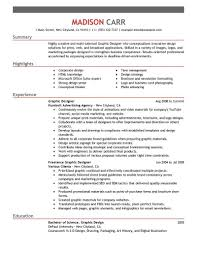 Resume Professional Summary Sample by Sample Resume Of Graphic Designer Free Resume Example And