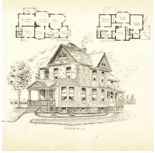 victorian home plans that appear to be by architect frank p allen