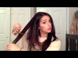 can you have a feathered cut for thick curly hair how to layer your own hair with scissors at home youtube