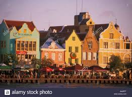 dutch colonial style dutch colonial style buildings on the waterfront of punda district