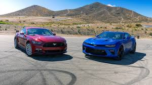 ford mustang chevy camaro car 2018 ford mustang gt has more horsepower than chevy