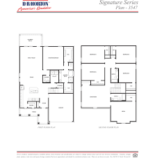 Dr Horton Floor Plans by Plan 3547 Fosters Ridge Conroe Texas D R Horton