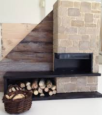 Modern Dollhouse Furniture Diy Dollhouse Fireplace Log Cabin Modern Rustic Fireplace Stone And