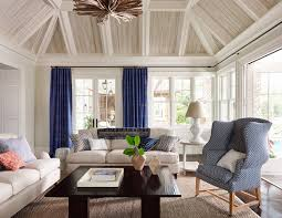 coastal living dining room coastal living room by designer andrew howard featuring sofas by