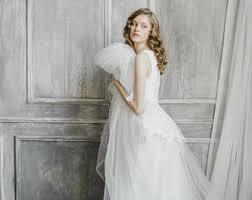 v neck wedding dresses v neck wedding dress etsy