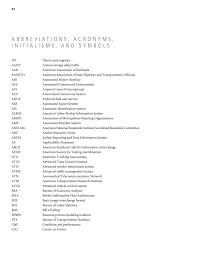 abbreviations acronyms initialisms and symbols guidance for