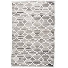 petra light natural wool u0026 bamboo flatweave rug
