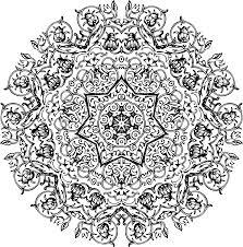 clipart circular ornament 42