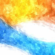 blue and yellow watercolor background 123freevectors