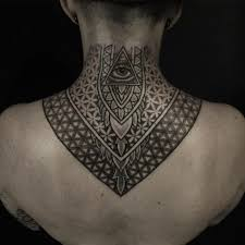 75 best neck tattoos for and designs meanings 2018
