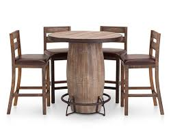 Casa Viejo Barrel Dining Table Furniture Row - Barrel kitchen table