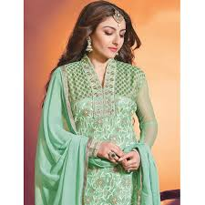 pista green dress suit