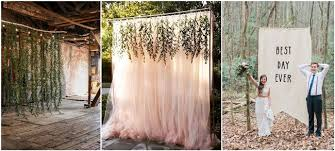 photo back drop 30 unique and breathtaking wedding backdrop ideas