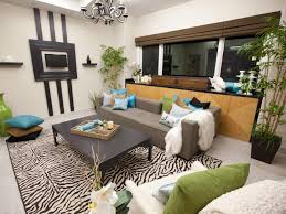 sophisticated living room design with grey sofa and white sofa