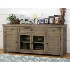 Slater Mill Pine  Media Unit Media Stands Discount Direct - Furniture and mattress gallery