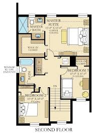 Walk In Closet Floor Plans Agate New Home Plan In Satori Tao Collection By Lennar