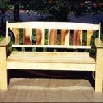 Plans To Make A Park Bench by Outdoor Storage Bench Building Plans Woodworking Plans Amp Project