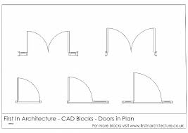 symbol for door on floor plan symbol for door on floor plan new free cad blocks door