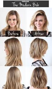 before and after picuters of long to short hair modern bob short haircuts before after popular haircuts