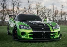 Dodge Viper Green - dodge viper acr on adv1 madwhips