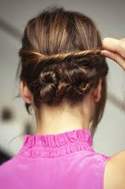 hair knots how to guide for styling summer 2013