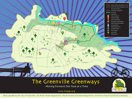 Greenville Nc Map Uptown Greenville Greenways