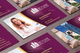 Business Card Template Jpg Real Estate Business Card Template By Godserv2 Graphicriver