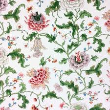 Floral Home Decor Prints Toile Chintz Fabric