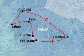 Jaipur India Map by Spirit Of India India Tours Peregrine Adventures Au